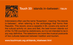 Touch 33 - Islands Inbetween
